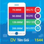 Thông tin chi tiết về các gói cước BIG DATA của Vinaphone