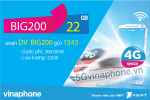 Thông tin chi tiết về gói cước BIG200 của Vinaphone