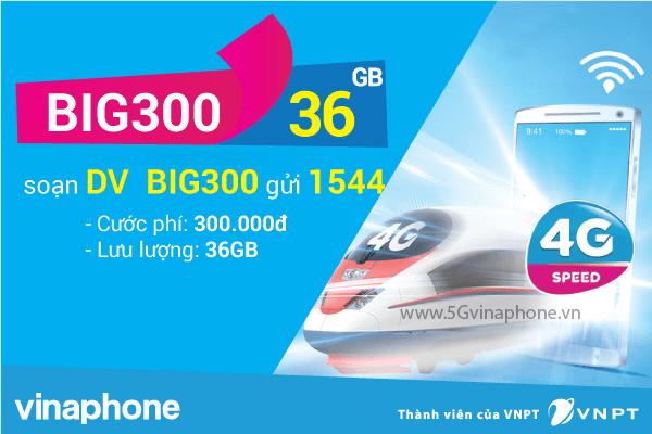 Thông tin chi tiết về gói cước BIG300 của Vinaphone