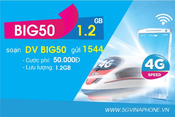 Thông tin chi tiết về gói cước BIG50 của Vinaphone