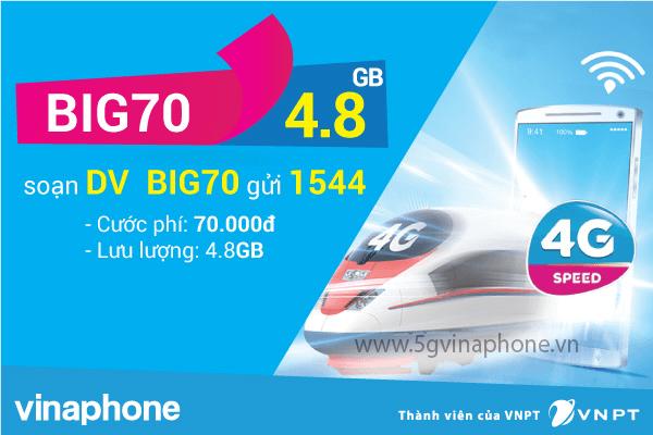 Hướng dẫn đăng ký gói cước BIG70 Vinaphone