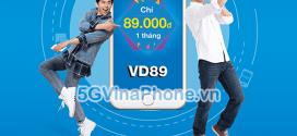 Đăng ký gói cước VD89 Vinaphone gọi MIỄN PHÍ + 60GB data chỉ 89.000đ/tháng