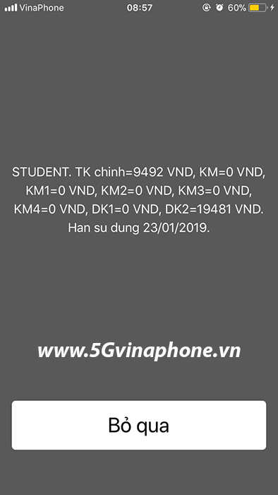 Tài khoản khuyến mãi Dk1 Dk2 Vinaphone là gì?