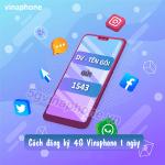 Hướng dẫn cách đăng ký 4G Vinaphone 1 ngày