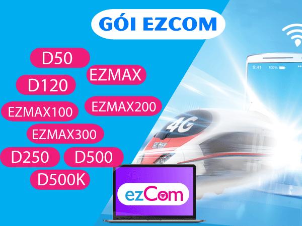 Thông tin chi tiết về các gói cước Ezcom của Vinaphone