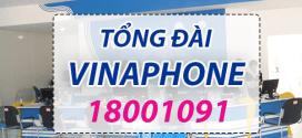 18001091 – Tổng đài Vinaphone duy nhất chăm sóc khách hàng 24/7