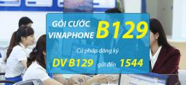 Đăng ký gói cước B129 Vinaphone ưu đãi gọi FREE, 60SMS và 1,2GB