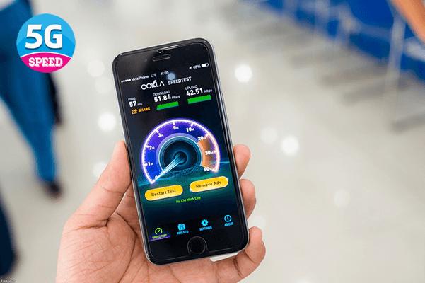 Tốc độ mạng 4G Vinaphone trên di động là bao nhiêu?
