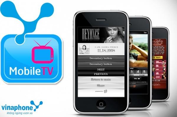 Hướng dẫn cách đăng ký dịch vụ Mobile Tv Vinaphone