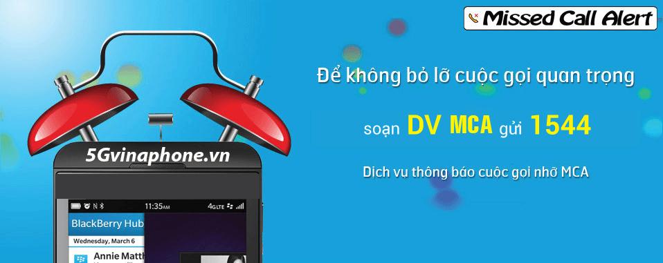 Cách đăng ký dịch vụ thông báo cuộc gọi nhỡ MCA của Vinaphone