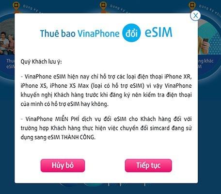 Esim Vinaphone và cách đổi eSim Vinaphone miễn phí ngay tại nhà