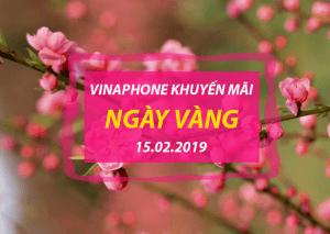 Khuyến mãi Vinaphone ngày 15/2/2019 ưu đãi CỰC KHỦNG cho TB trả trước
