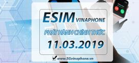 Thời gian phát hành eSIM chính thức của Vinaphone là khi nào?