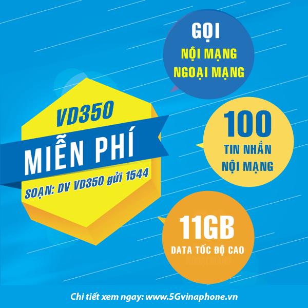 Thông tin chi tiết về gói cước khuyến mãi VD350 của Vinaphone