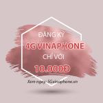 Chỉ còn 10.000đ nên đăng ký gói cước 4G nào của Vinaphone?