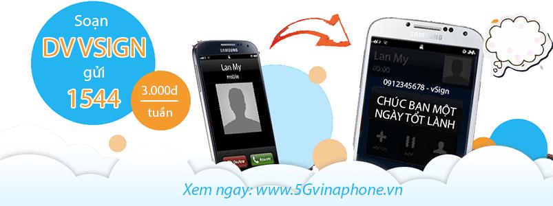 Hướng dẫn dịch vụ chữ ký cuộc gọi Vsign Vinaphone