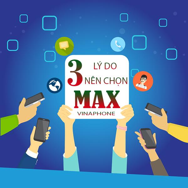 Tại sao nên chọn gói cước MAX của Vinaphone?