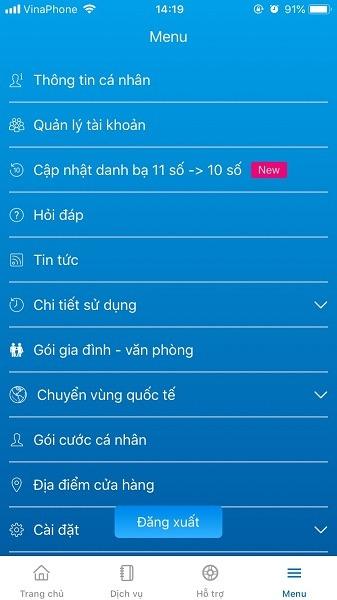 Hướng dẫn cách cài đặt và sử dụng ứng dụng My VNPT Vinaphone