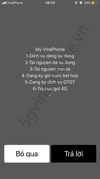 Hướng dẫn cách kiểm tra dịch vụ Vinaphone đang sử dụng