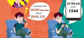 Nên đăng ký gói cước 3G 4G Vinaphone nào thả ga dịp lễ 30/4 và 1/5?