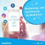 Hướng dẫn đăng ký gói cước VD100 Vinaphone