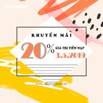 Khuyến mãi của Vinaphone 3/5/2019 ưu đãi ngày vàng toàn quốc