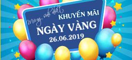 Vinaphone khuyến mãi ngày 26/6/2019 ưu đãi NGÀY VÀNG mừng sinh nhật