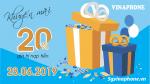 Chương trình khuyến mãi Vinaphone ngày 28/6/2019 ưu đãi cho TB may mắn