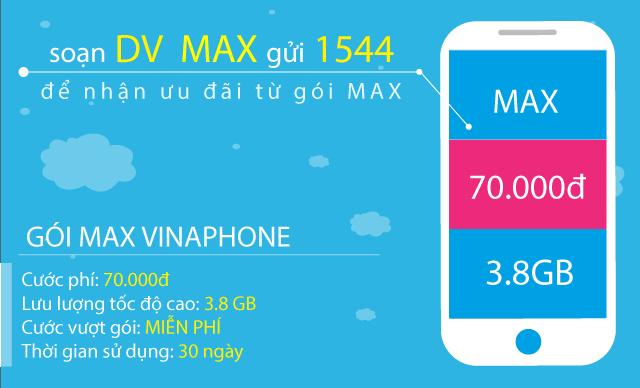 Chỉ 70.000đ nên đăng ký BIG70 hay MAX Vinaphone?