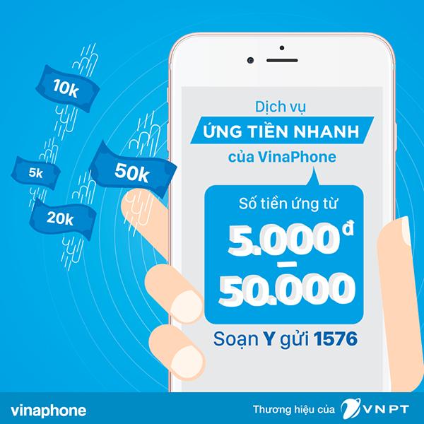 Hướng dẫn cách ứng tiền Vinaphone nhanh chóng đơn giản từ 5k - 50k