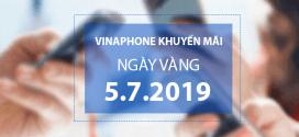 Vinaphone khuyến mãi ngày 5/7/2019 tặng 20% tiền nạp bất kỳ