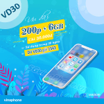 Hướng dẫn đăng ký gói cước VD30 Vinaphone