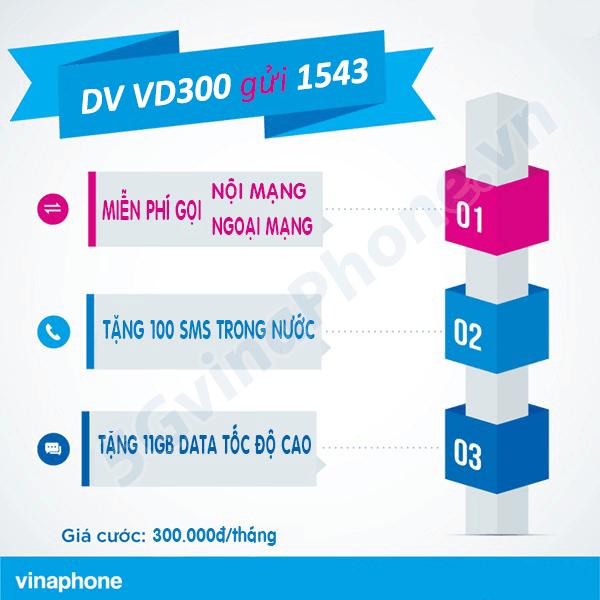 Hướng dẫn đăng ký gói cước VD300 Vinaphone