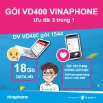 Thông tin chi tiết về gói cước VD400 Vinaphone
