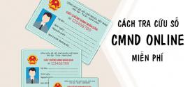 Hướng dẫn cách tra cứu số CMND miễn phí nhanh chóng nhất