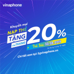 Thông tin chi tiết về chương trình Vinaphone khuyến mãi ngày 30/8/2019