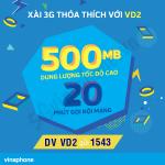 Thông tin chi tiết về gói cước VD2 Vinaphone