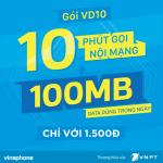 Hướng dẫn đăng ký gói cước VD10 Vinaphone