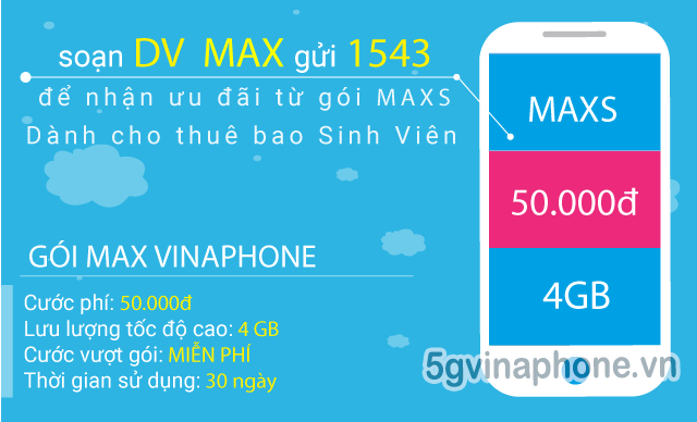 Hướng dẫn đăng ký gói cước 5G Vinaphone cho sim sinh viên, học sinh