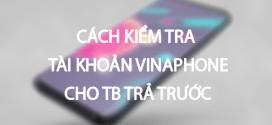 Hướng dẫn 3 cách kiểm tra tài khoản Vinaphone trả trước cực nhanh