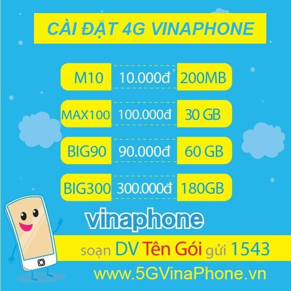Cách cài đặt cấu hình 4G Vinaphone mới nhất 2021