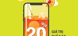 Khuyến mãi Vinaphone ngày 10/1/2020 ưu đãi 20% giá trị tiền nạp toàn quốc
