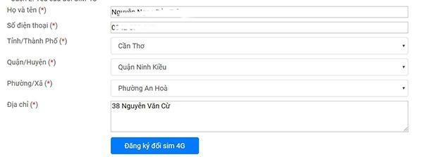 Ưu đãi 5GB data tốc độ cao khi đổi sim 4G Vinaphone miễn phí