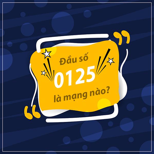 Đầu số 0125 là mạng gì? Đầu 0125 đổi thành đầu 10 số nào?