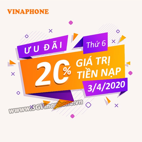 Thông tin chi tiết về chương trình Vinaphone khuyến mãi ngày 3/4/2020