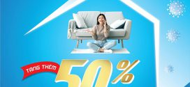 Vinaphone tặng thêm 50% dung lượng 4G tốc độ cao GIÁ KHÔNG ĐỔI