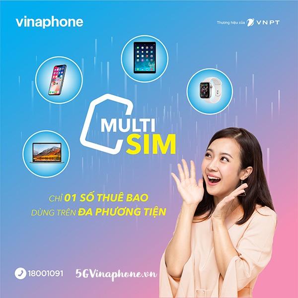 Dịch vụ MultiSIM Vinaphone là gì?