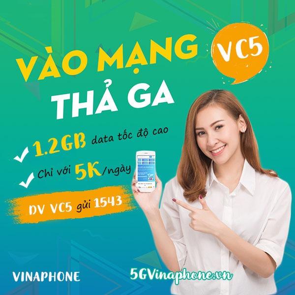 Hướng dẫn cách đăng ký gói cước VC5 Vinaphone