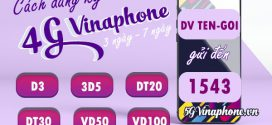 Đăng ký gói cước 4G Vinaphone 3 ngày, 7 ngày (tuần) giá chỉ từ 15K