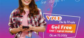 Đăng ký gói cước V70P Vinaphone chỉ 70K gọi MIỄN PHÍ cả tháng